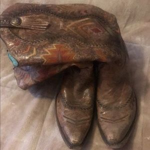 Women's corral boots size 11
